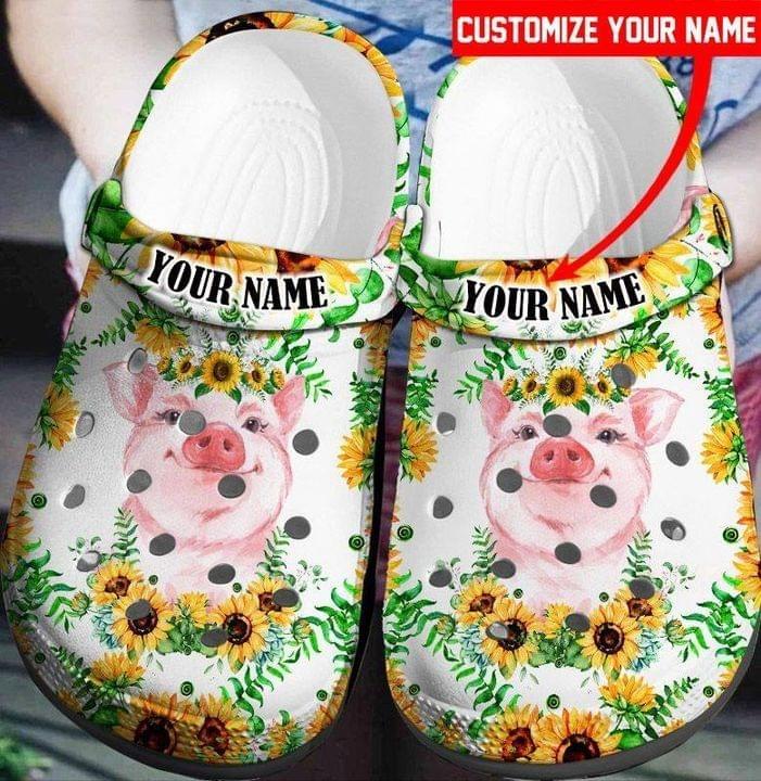 Pig croc shoes crocband clog