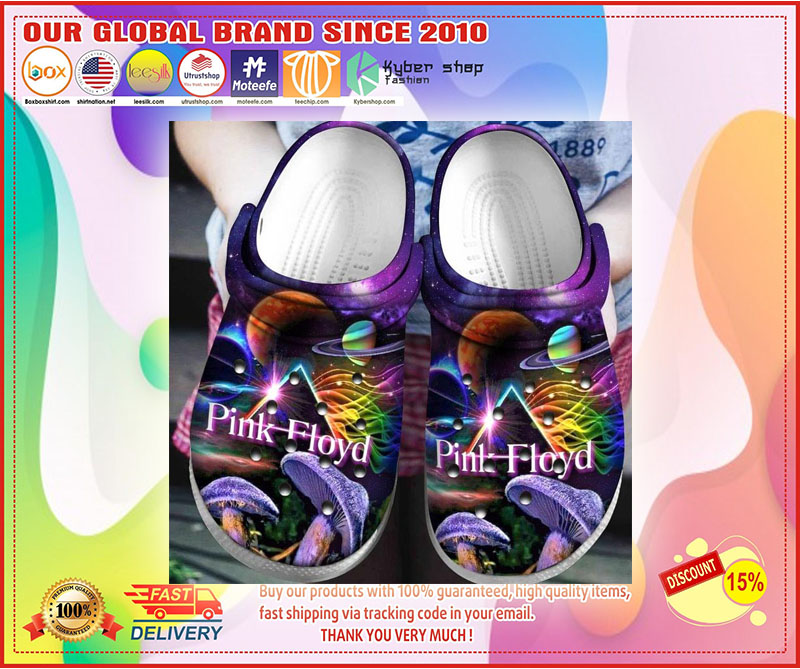 Pink floyd croc shoes crocband - LIMITED EDITION