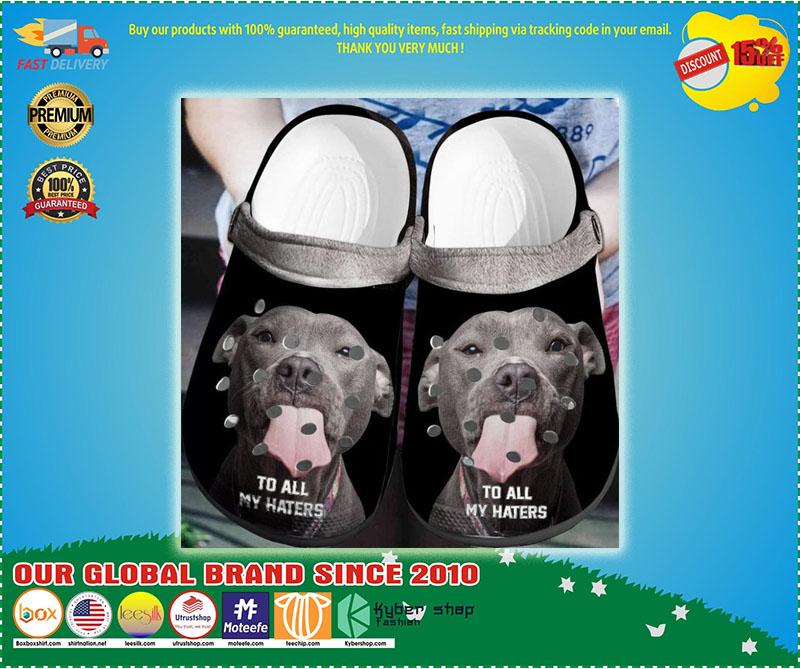 Pitbull To all my haters crocs shoes crocband - LIMITED EDITION