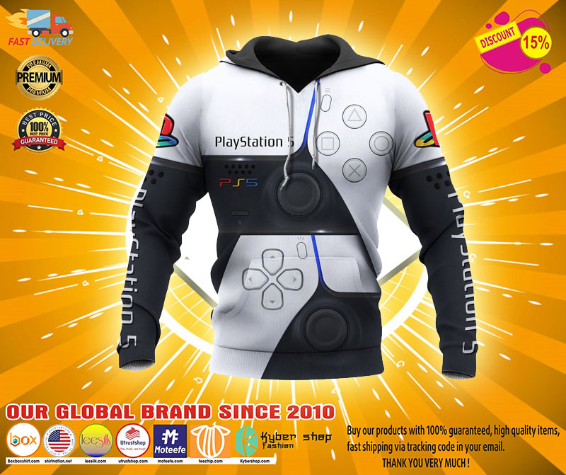 Playstation 5 3D full print hoodie - LIMITED EDITION