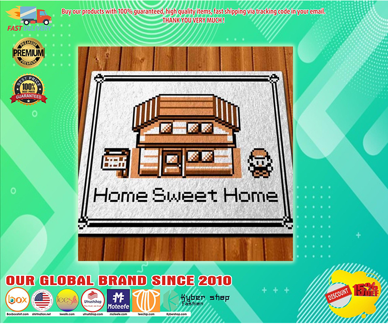Pokemon game home sweet home doormat - LIMITED EDITION BBS