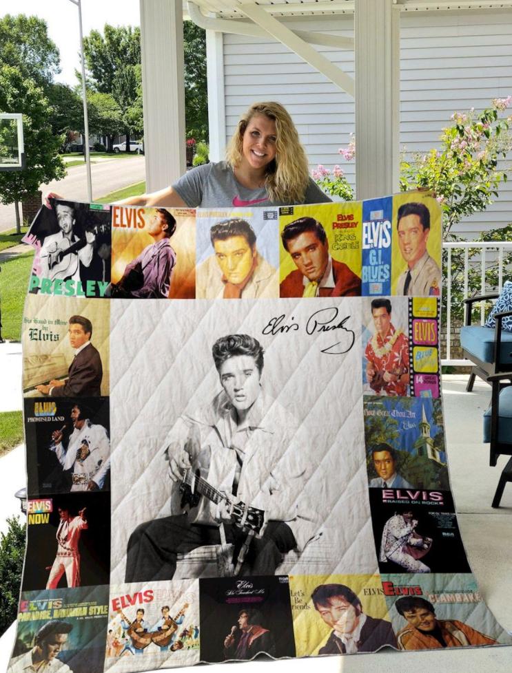 Presley Elvis 3D quilt