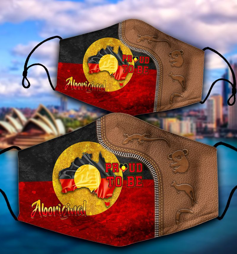 Proud To Be Aboriginal Face Mask