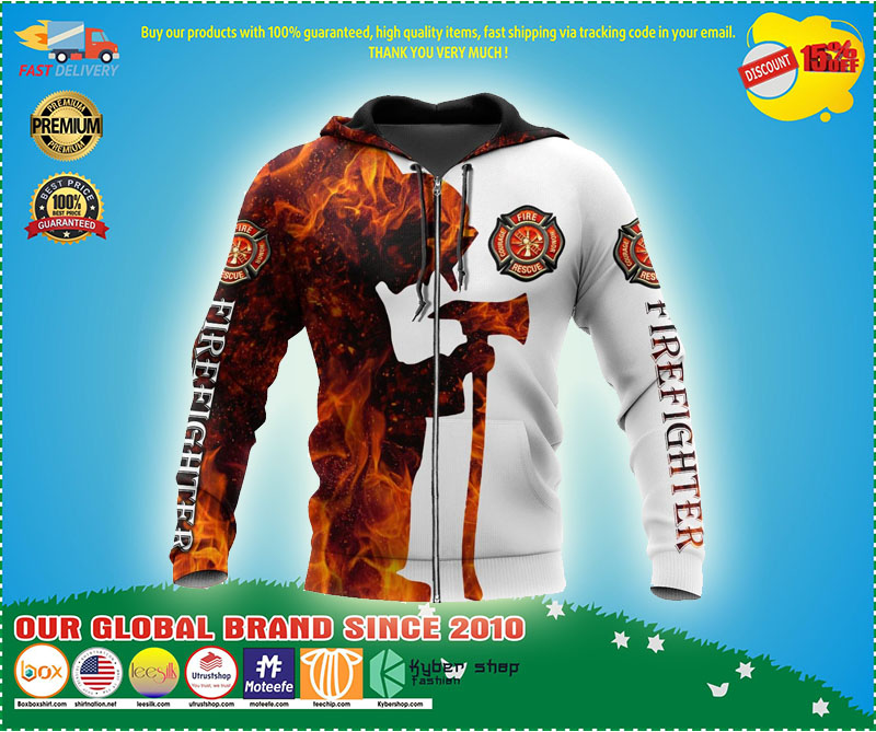 Respectful Firefighter 3d Hoodie – LIMITED EDITION