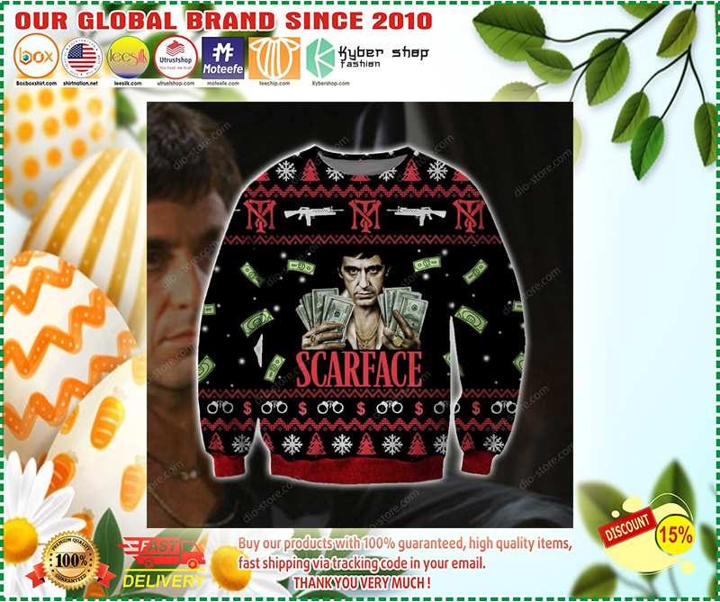 Scarface ugly christmas sweater - LIMITED EDTION