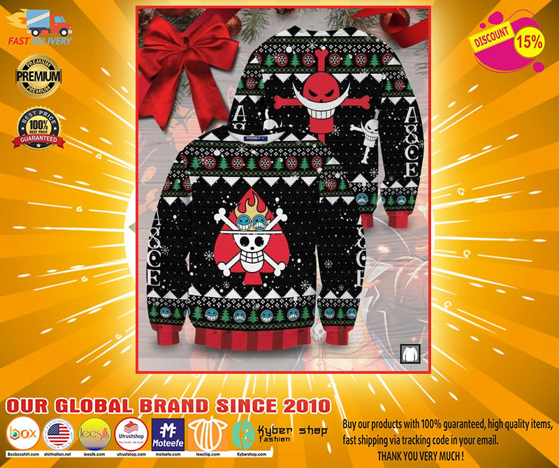 Skull Pirate ugly Christmas sweater - LIMITED EDITION