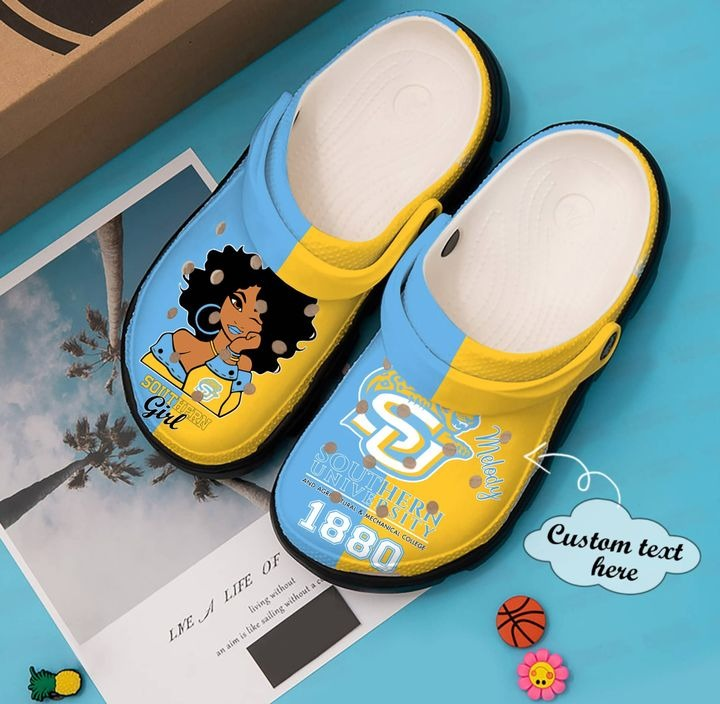 Subr Southern Jaguars and Lady Jaguars crocband clog shoes - LIMITED EDITION