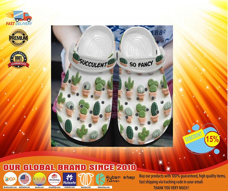 Succulent so fancy croc shoes crocband - LIMITED EDITION