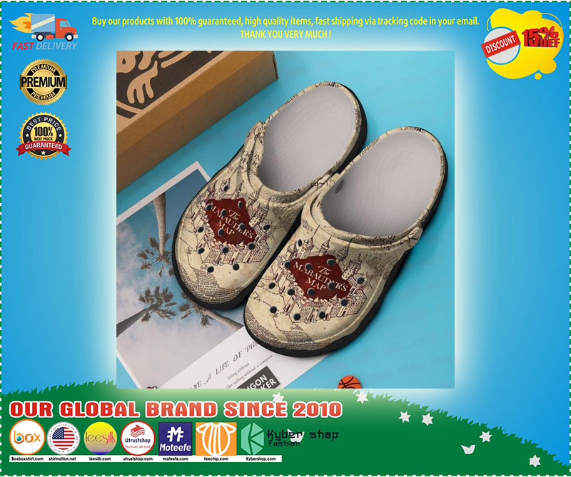 The marauders map croc shoes crocband - LIMITED EDITION