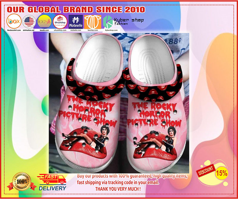 The rocky horror picture show crocs shoes crocband - LIMITED EDITION