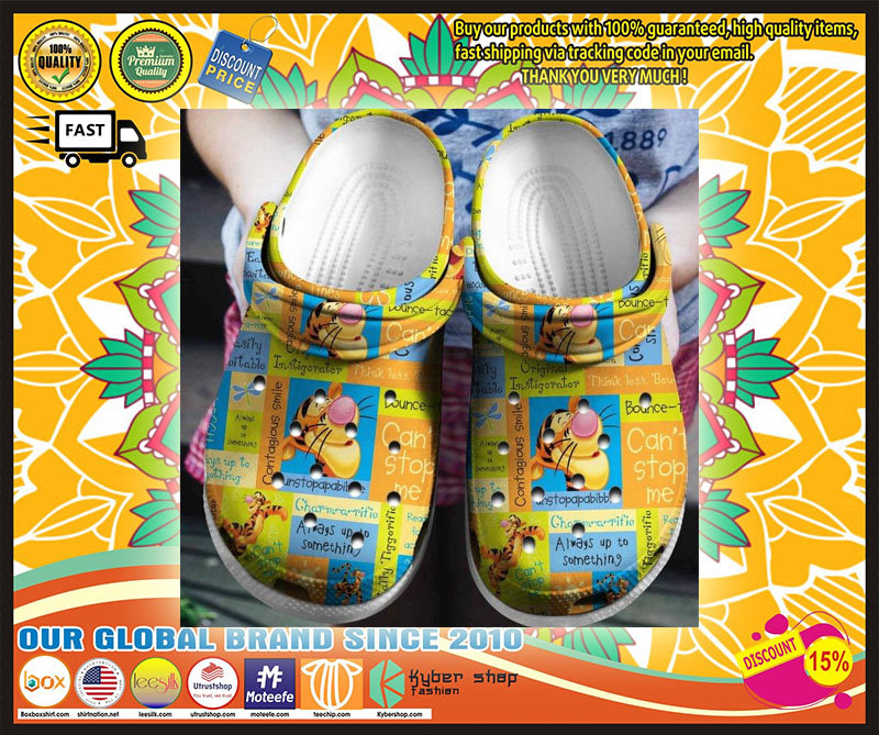 Tigger croc shoes crocband - LIMITED EDITION