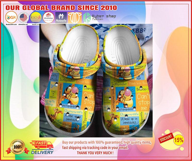 Tigger croc shoes crocband - LIMITED EDITION