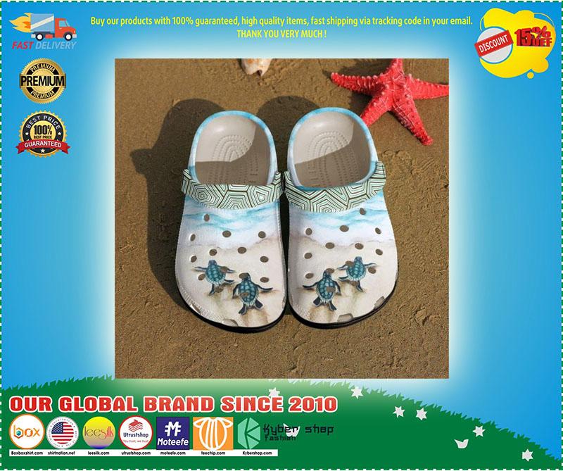 Turtle croc shoes crocband - LIMITED EDITION