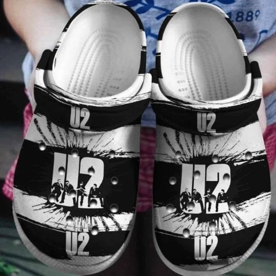 U2 crocs crocband shoes
