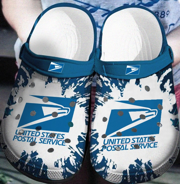 USPS crocs crocband shoes