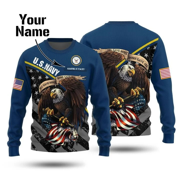 Us navy all gave some some gave all christmas sweater
