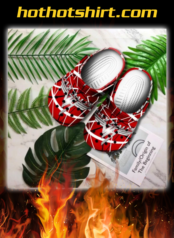 Van Halen crocs shoes crocband 1