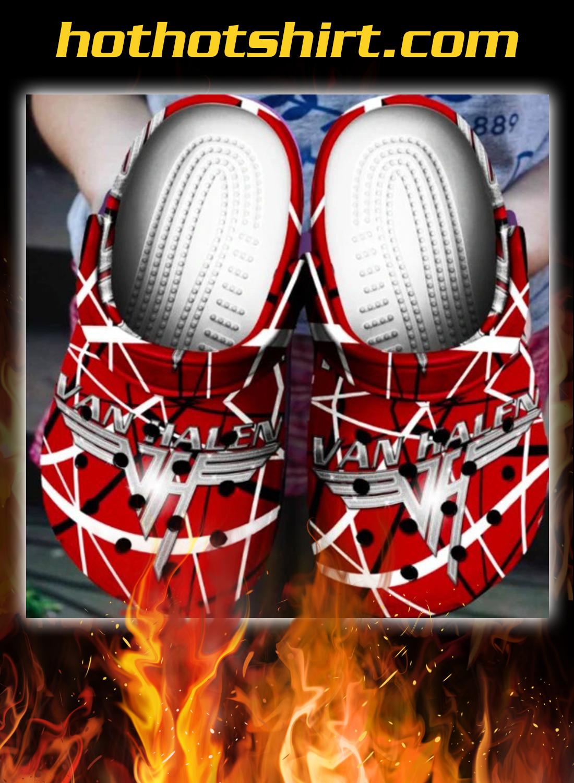 Van Halen crocs shoes crocband 2
