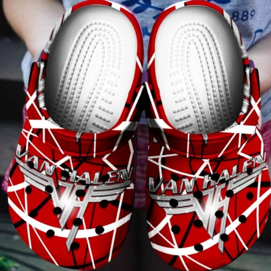Van halen crocs crocband shoes