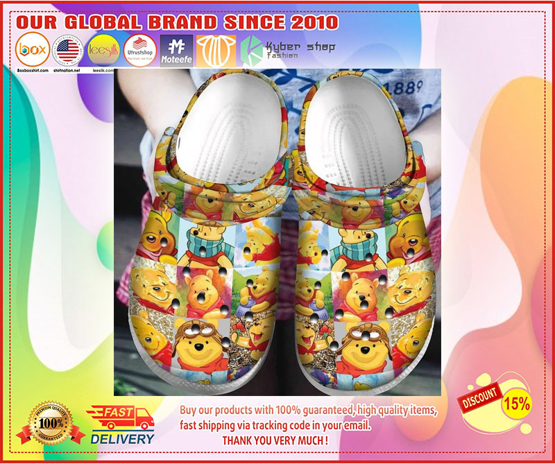 Winnie the Pooh croc shoes crocband - LIMITED EDITION
