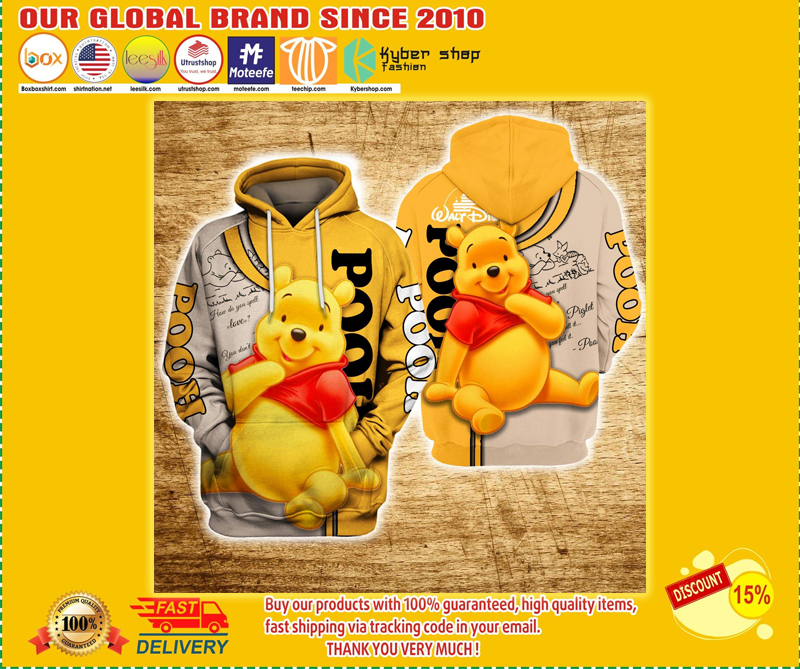 Winnie the pooh 3d hoodie - LIMITED EDITION BBS