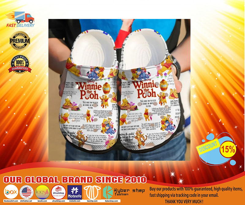 Winnie the pooh crocs crocband - LIMITED EDITION