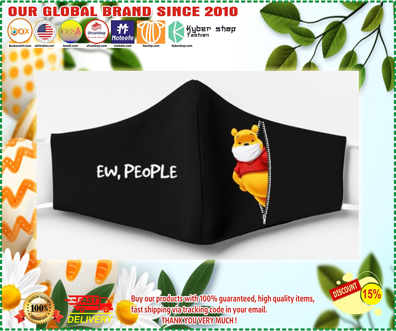 Winnie the pooh ew people face mask - LIMITED EDITION BBS