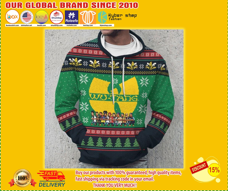 Wu-tang cartoons ugly christmas 3d hoodie - LIMITED EDITION BBS