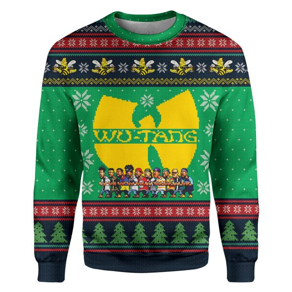 Wu-tang cartoons ugly christmas 3d sweatshirt and hoodie