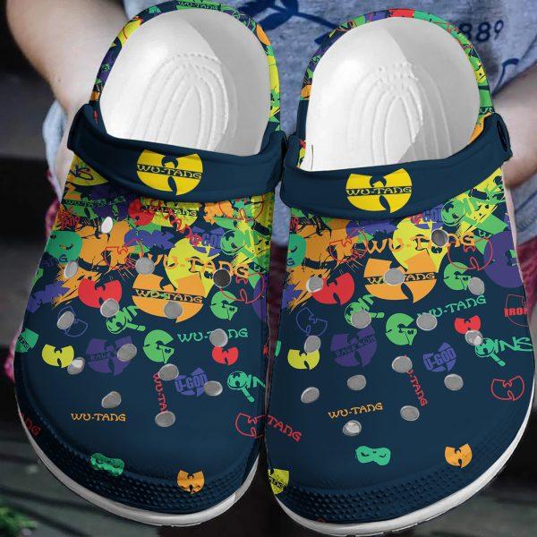 Wu-tang crocband crocs shoes