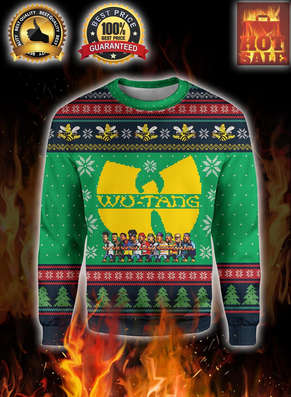 Wu-tang ugly christmas sweater 3