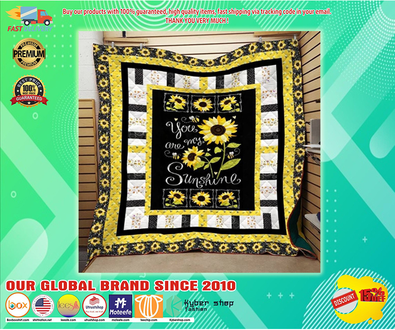 You are my sunshine sunflower quilt - LIMITED EDITION BBS