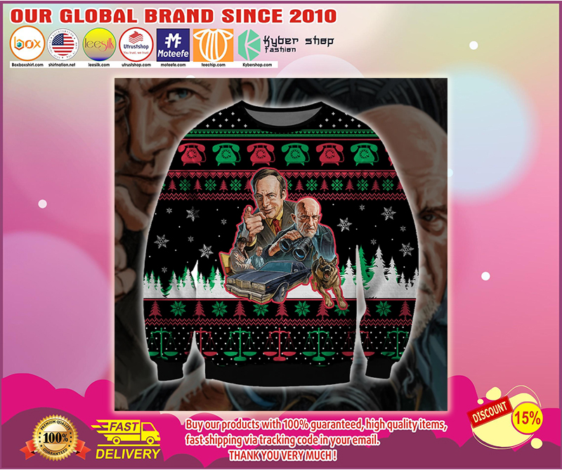BATTLE CALL SAUL UGLY CHRISTMAS SWEATER - LIMITED EDITION BBS