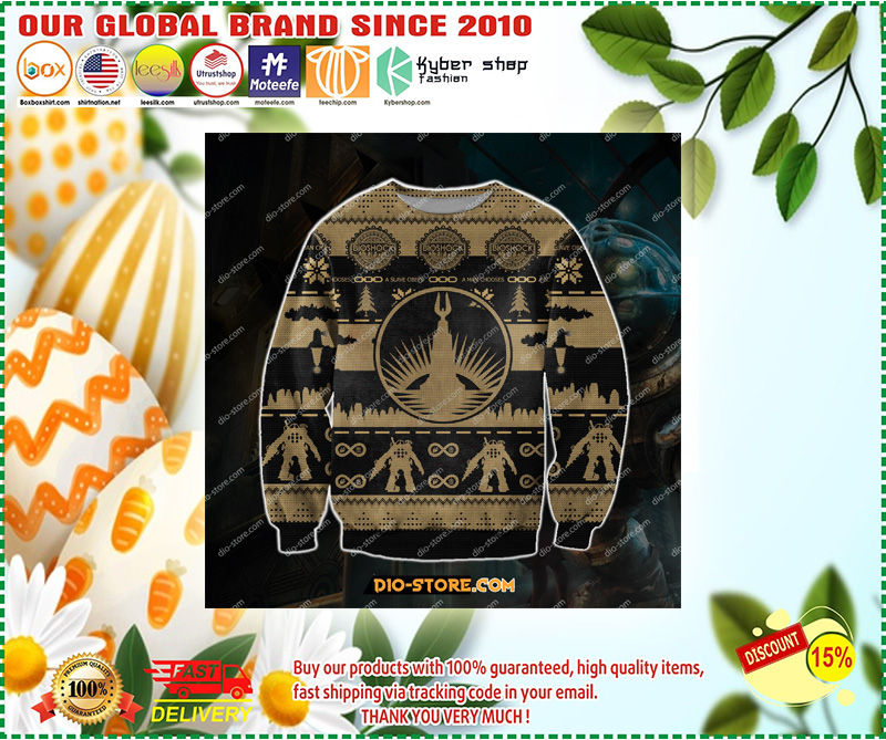 BIOSHOCK UGLY CHRISTMAS SWEATER – LIMITED EDITION