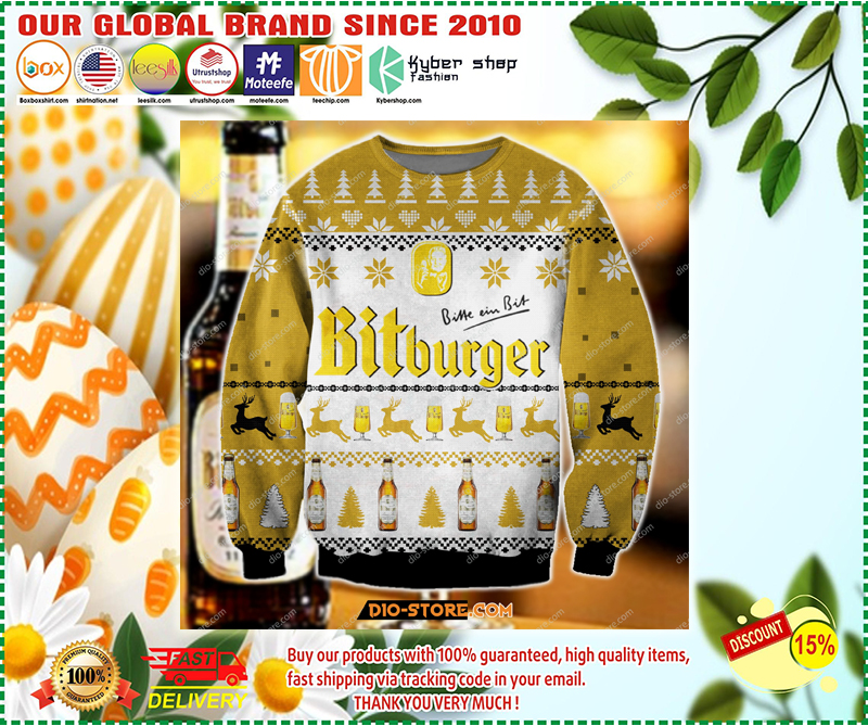 BITBURGER UGLY CHRISTMAS SWEATER - LIMITED EDITION BBS