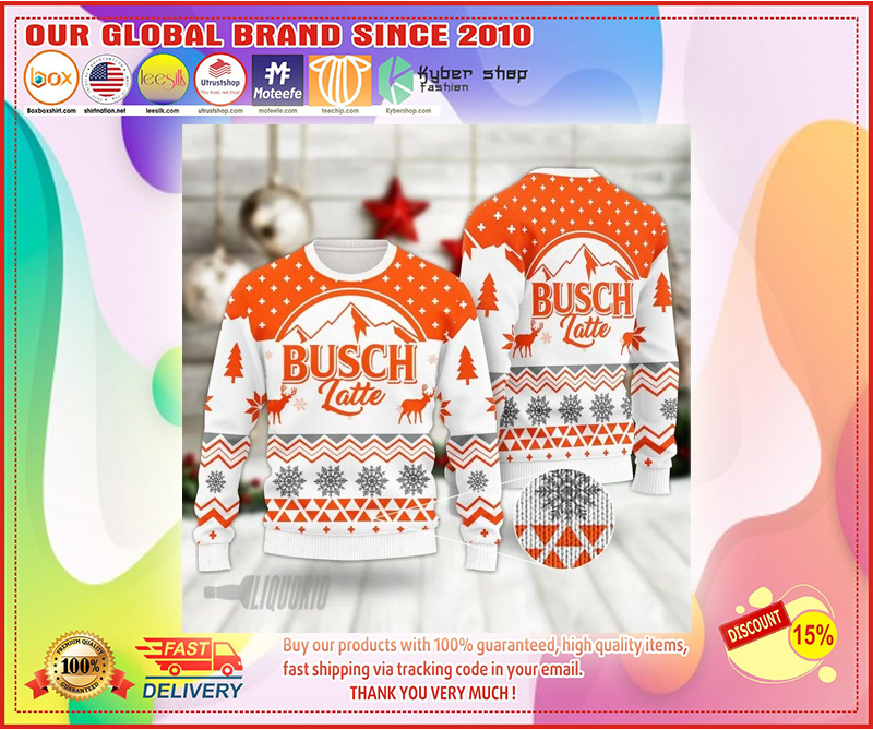 BUSCH LATTE SWEATER CHRISTMAS - LIMITED EDITION