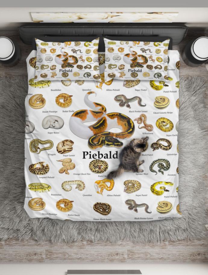 Ball Python Reptiles bedding set 1