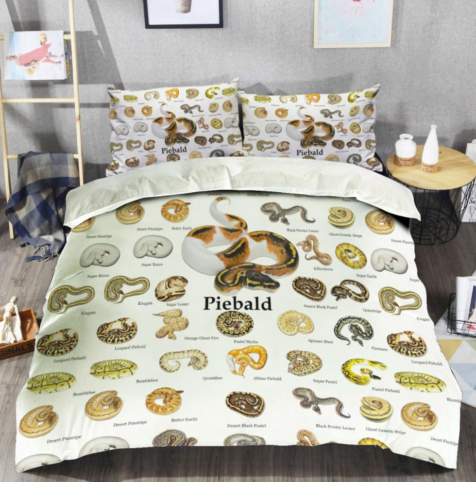Ball Python Reptiles bedding set