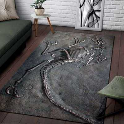 Dinosaur fossil rug - LIMITED EDITION BBS