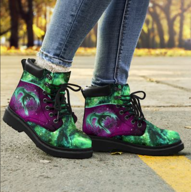 Dragon of the galaxy timberland boots - dnstyles