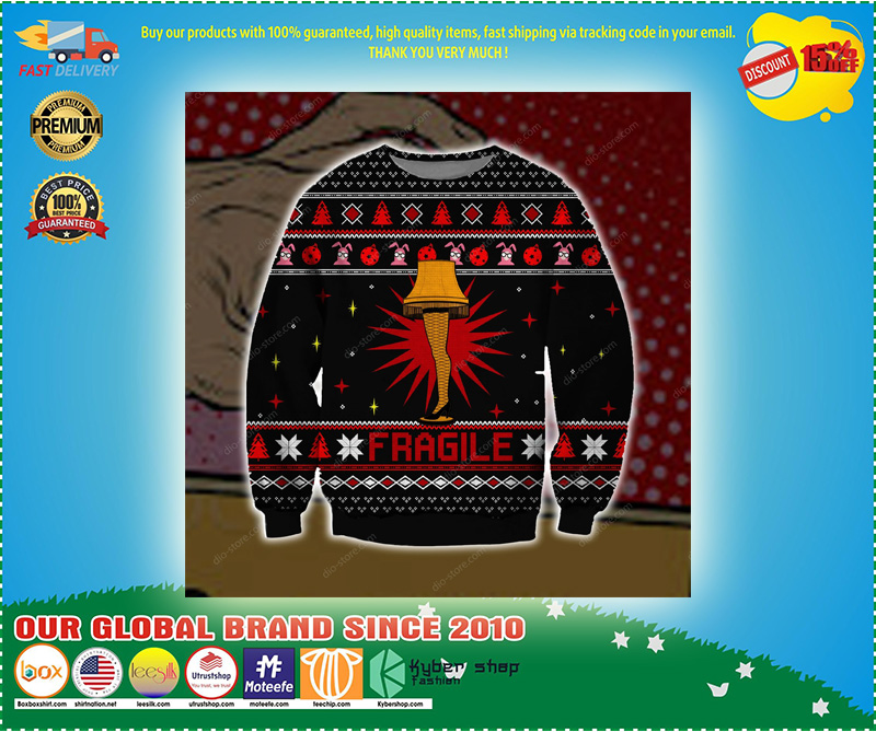 FRAGILE UGLY CHRISTMAS SWEATER – LIMITED EDITION