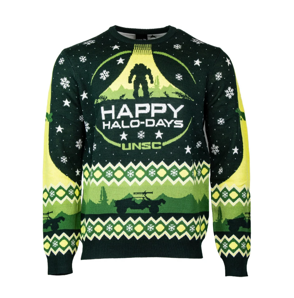 Happy Halo day unsc ugly sweater - dnstyles