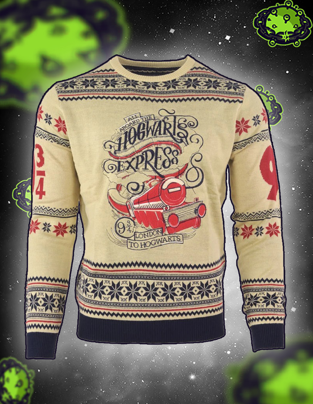 Harry potter hogwarts express christmas jumper and ugly sweater