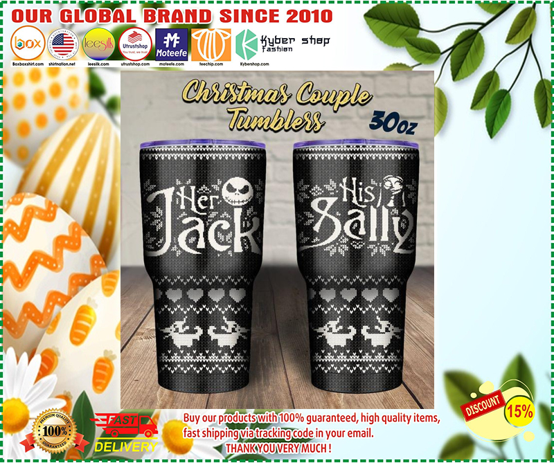 Her Jack His Sally tumbler - LIMITED EDITION BBS