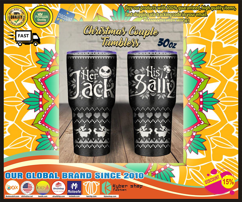 Her Jack His Sally tumbler - LIMITED EDITION