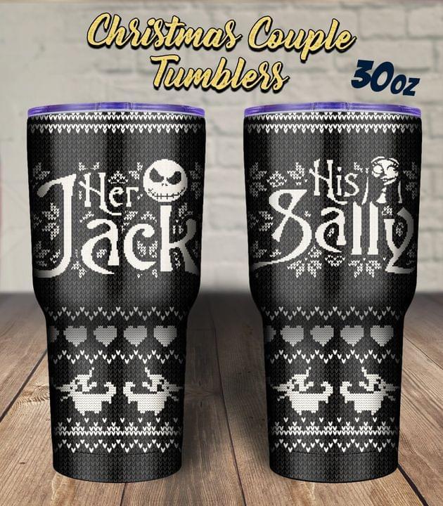 Her Jack His Sally tumbler