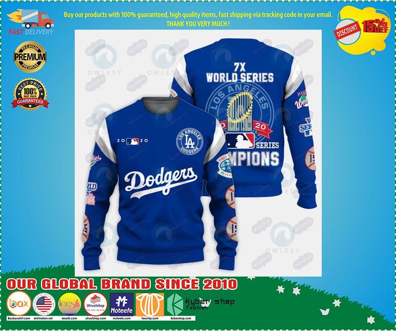 LA Dodgers world series champion 3d hoodie – LIMITED EDITION