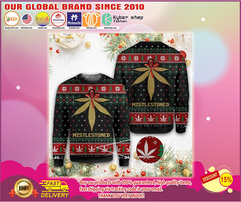 Merry christmas weed ugly christmas sweater - LIMITED EDITION BBS