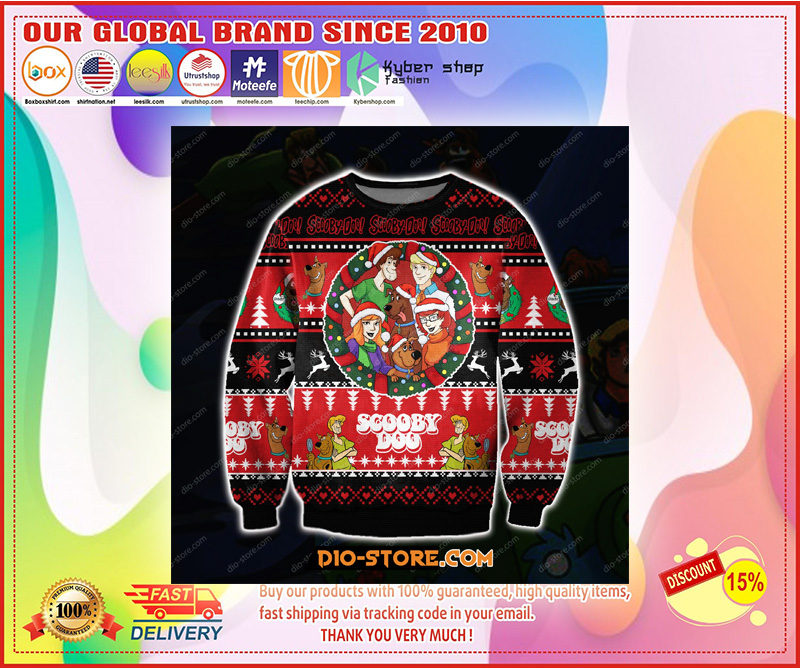 SCOOBY-DOO 3D PRINT KNITTING PATTERN UGLY CHRISTMAS SWEATER – LIMITED EDITION