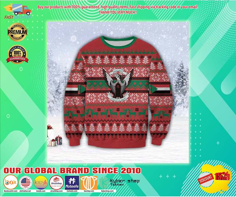 SUDAN COUNTRY UGLY CHRISTMAS SWEATER - LIMITED EDITION BBS